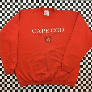 VTG Hanes Cape Cod Beach Resort Crewneck